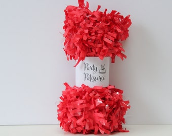 Fringe Garland Party Decor (Red)festooning
