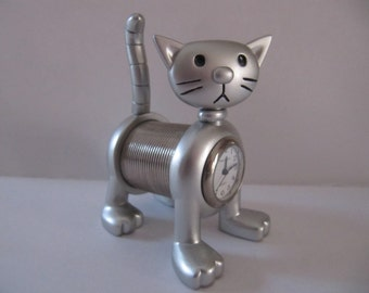 Popular Items For Cat Clock On Etsy