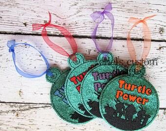 Turtles Christmas Ornament