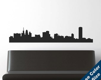 Buffalo Skyline Wall Decal - Vinyl Sticker  - New York