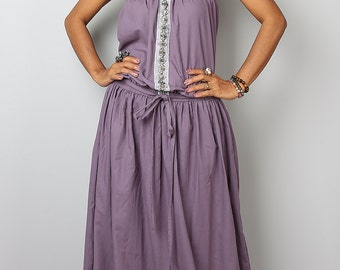 Maxi Dress / Soft Purple Summer Dress  : Cheer me Up collection