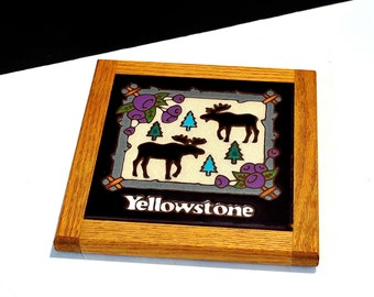 Yellowstone Tile Trivet by Masterworks