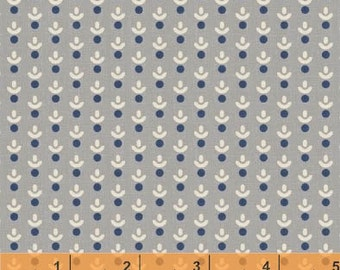 SALE - Hennessy - Ditzy Gray by Willamsburg from Windham Fabrics