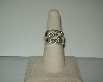 Sterling Silver Butterfly ring size 6 3/4