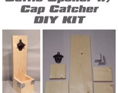 Wall Mounted Bottle Opener with Cap Catcher KIT