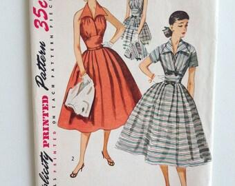 1950s Dress & Jacket McCalls Pattern 4249 - Size 16 Bust 34