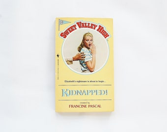 Sweet Valley High Kidnapped Book Francine Pascal