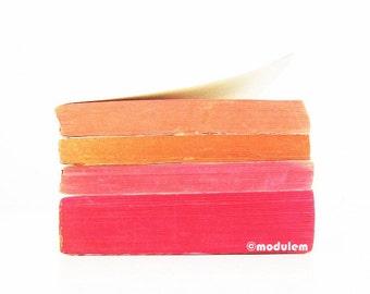 Vibrant Art Print - Bubblegum Flavours - Fine Art books print, coral, fuschia, red, pinkish, peach, fruity shades, bright, happy, 8x8, 8x10
