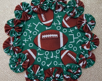 Football Table Doily