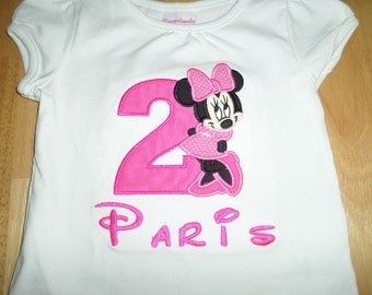 Minnie Birthday shirt