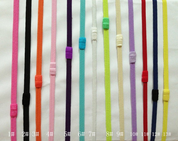 1 4 Inch Skinny Elastic Headbands Foe By Thebuttonsisters