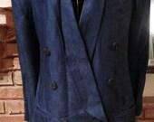 Vintage Michii Moon Sanyo Navy Blazer
