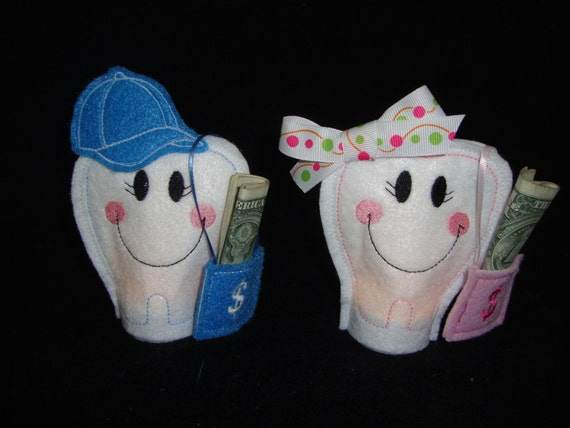 Tooth Holder For Tooth Fairy Pattern