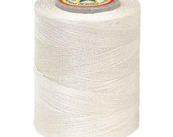 No. 116--Star Machine Quilting Sewing & Craft Thread- 100% Cotton- CREAM- 30WT