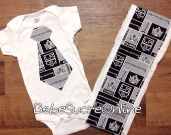 LA Kings Bodysuit and Burp Cloth
