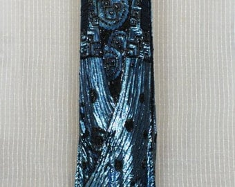 vibrant electric sequin flapper gown 1920s 20s Deco dress bakelite gatsby