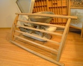 1800s Bread cooling rack German bakers bread rack