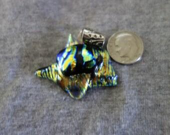 Handmade Dichroic Pendant - CLEARANCE