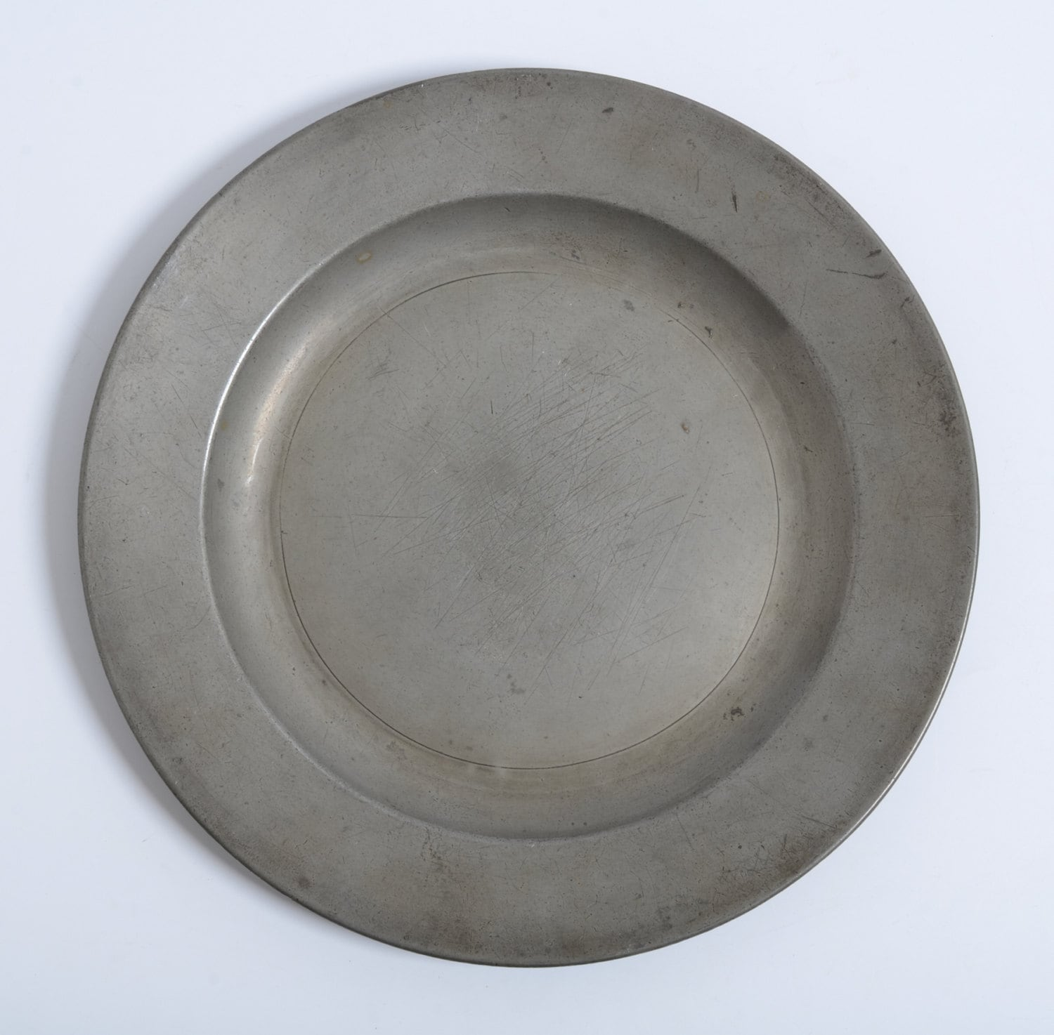 Antique Pewter Plates : Antique pewter plate by john vaughan london ca s th