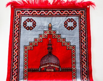 Vintage Turkish Rug - Vintage Prayer Rug Red Prayer Rug Super Star Rug Kilim Rug