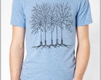 Arrow Trees Boho Feathers Arrowhead T shirt Unisex Men's Women's Nature Theme American Apparel Tee Tshirt  9 COLORS Full Spectrum Apparel