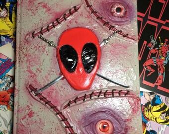 Custom Deadpool Sketchbook