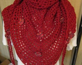 Crocheted scarf/cowl/shawl