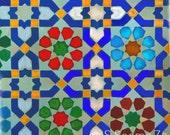 Moroccon Blue Tiles