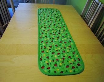 Insulated Reversable Table Runner, Hot Pad Table Runner