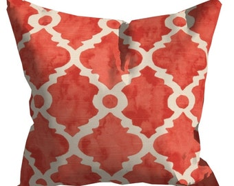coral pillows, coral throw pillow, coral pillow cover, coral decorative pillows, coral accent pillows, coral euro shams, coral couch pillows