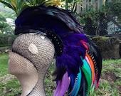 "Customizable Feather Mohawk / Headdress - ""Dhara"""