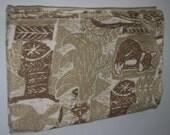 Boys Swaddle Blanket: Woodland animals
