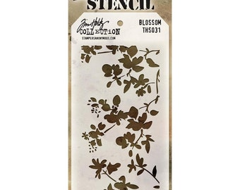BLOSSOM LAYERING STENCIL by Tim Holtz