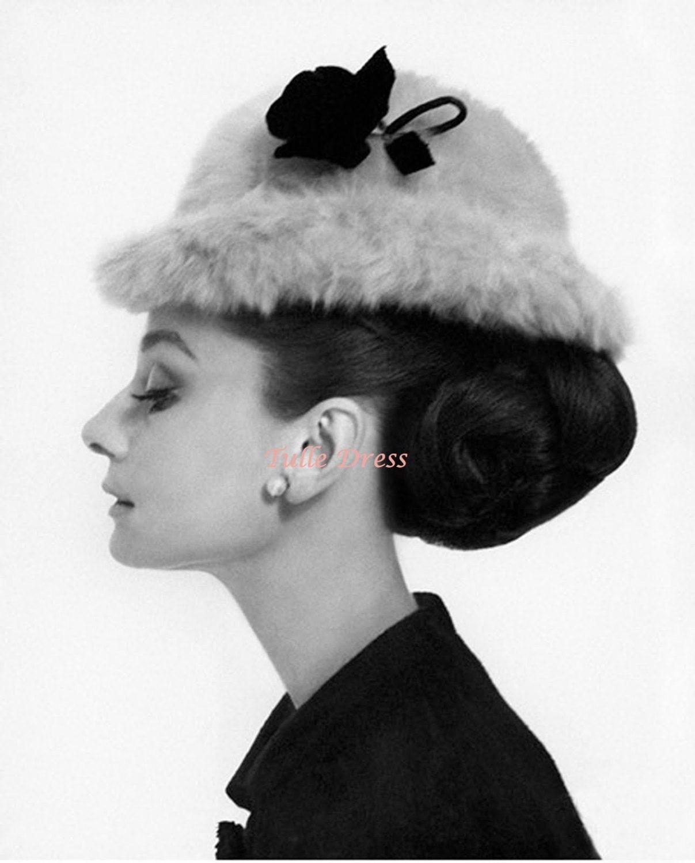 Blair Waldorf Bedroom Audrey Hepburn Profile Fur Hat Photograph From Blair