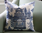 Schumacher Nanjing  Cushion Cover 20 Inch