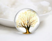 10mm 12mm 14mm 16mm 18mm 20mm 25mm 30mm Handmade Round Photo Glass Cabochons Cover-Tree (P1303)