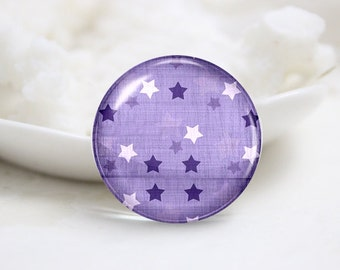 10mm 12mm 14mm 16mm 18mm 20mm 25mm 30mm Handmade  Photo Glass Cabochons Cover-Star (P1003)