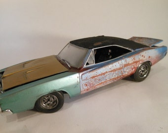 Dodge Charger Scale Model Auto Car by Classicwrecks