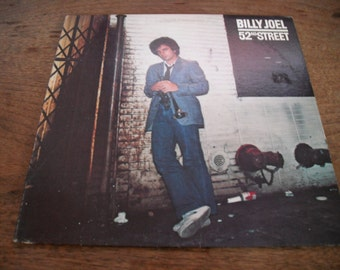 Billy Joel 52 nd Street 0n Columbia Records 1978