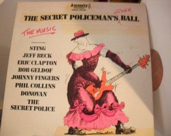 The Secret Policemans Other Ball Amnesty International Benefit Lpon Island Records Sting Phil Collins Jeff Beck Eric Clapton
