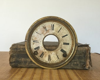 Antique / Vintage Tin / metal Watch Face