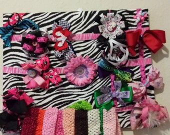 Custom bow holder / Custom head band holder / Bow Holder