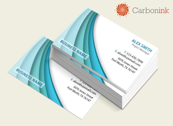 Items similar to Silk Laminated Business Cards Thick