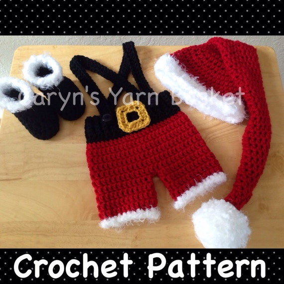 Pc santa suit with elf stocking hat amp boots set photography prop