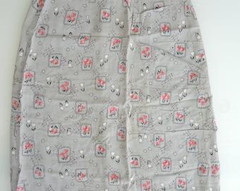 Vintage Pencil Skirt - Unfinished