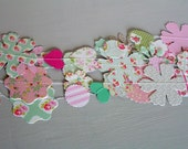 Tea Party Paper Garland - Party Decoration - Wedding Decor - Photo Backdrop - 3 metres / 10 feet