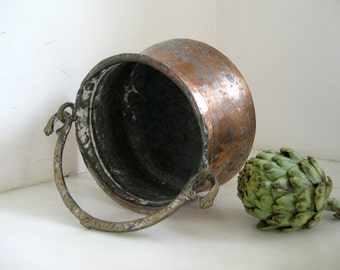 Silk Road Copper Pot ~ from the Istanbul Bazaar