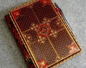 Custom Vintage Book Journal