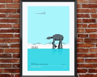 "Star Wars: Episode V - The Empire Strikes Back Poster 11x17"""