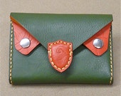 Retro 'Owl' purse, real Italian leather. Free UK delivery.